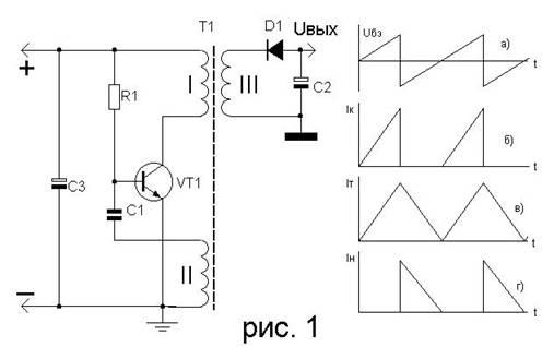 Транзистор автогенератора